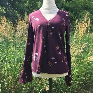 NWT Lee&Birch Floral Top